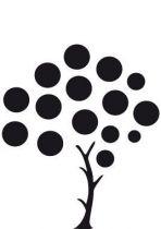 Stickers frigo arbre.