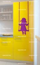 Stickers frigo balançoire
