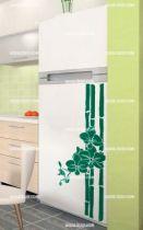 Stickers frigo bambou