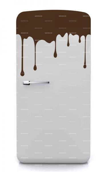 Stickers frigo chocolate