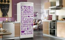 stickers frigo compo food