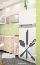 Stickers frigo couverts