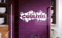 stickers frigo cuisine