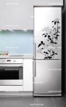 Stickers frigo fleurs