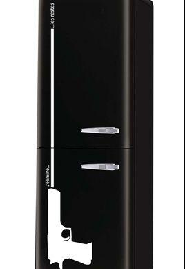 Stickers frigo pistolet pour décoration de réfrigérateur