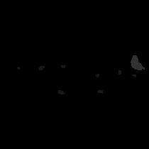 Le stickers frise fée et papillon en noir pour décorer l\'intérieur sur le thème des fées