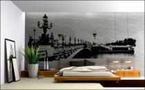 Le stickers géant pont parisien pour décorer en grand format