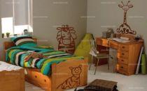 Stickers girafe pour chambre de bébé