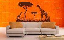 stickers girafe africaine