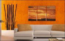 Le stickers grands bambous vous permettra d\'apporter la nature sur vos murs