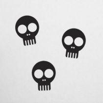 Stickers Happy skulls 01
