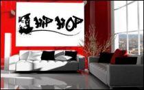 Le stickers hip hop Tupac pour décorer une chambre d\'enfant