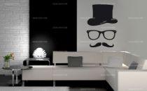 stickers moustache homme
