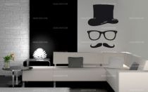 stickers moustache homme