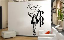 Le stickers king of pop music pour décorer l\'intérieur