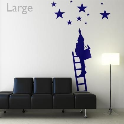 Stickers L\'enfant aux étoiles