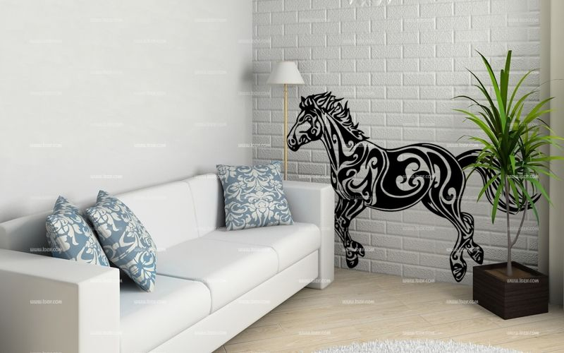 Stickers l\'esprit du cheval.
