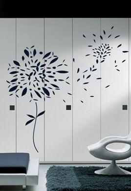 Stickers les feuilles volantes