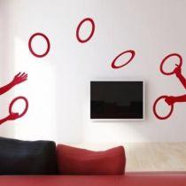 Stickers Les jongleurs
