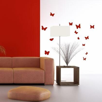Stickers Les papillons