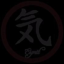 Le stickers lettre asiatique esprit en noir pour une décoration exotique