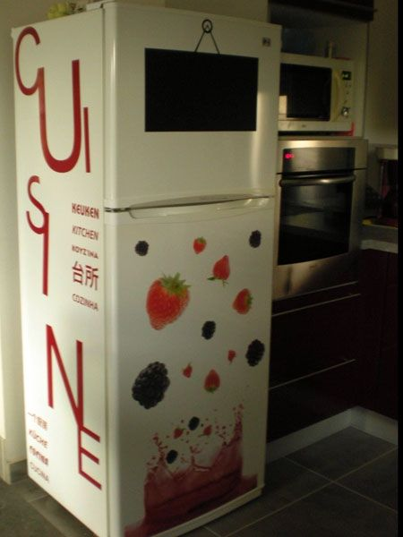 stickers lettres cuisine