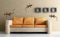 stickers lezard plafond