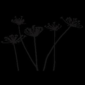 Le stickers lot de fleurs vous permettra de décorer un support (mur, meuble) avec un stickers nature