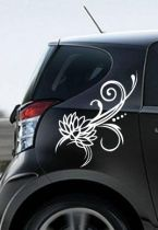 stickers lotus portiere voiture