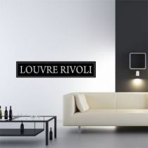 Stickers Louvre Rivoli