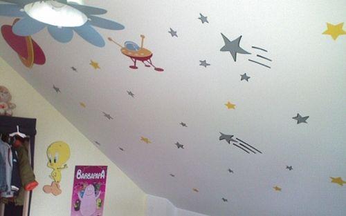 Stickers lune et étoiles
