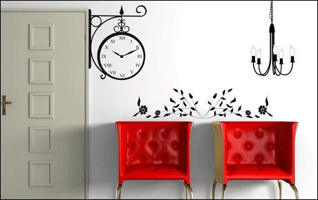 Le stickers lustre baroque pour une décoration baroque