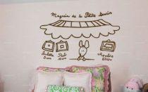 Stickers magasin de la petite souris