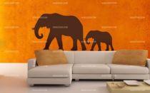 Stickers marche des éléphants