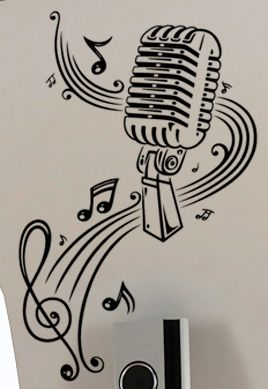 stickers musique portee