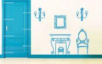 stickers meubles baroque