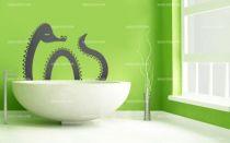 Stickers monstre du Loch Ness
