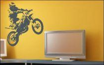 Le stickers moto cross pour une décoration sport