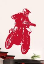 stickers motard cross