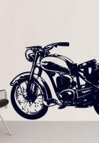 Stickers moto rétro.