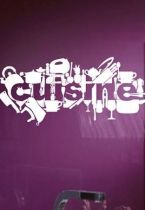 sticker frigo cuisine