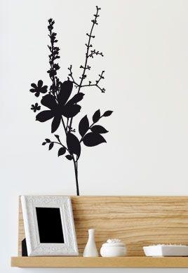 stickers plantes interieur