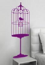 stickers baroque oiseau