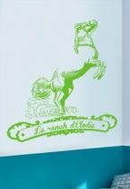 stickers enfant cheval