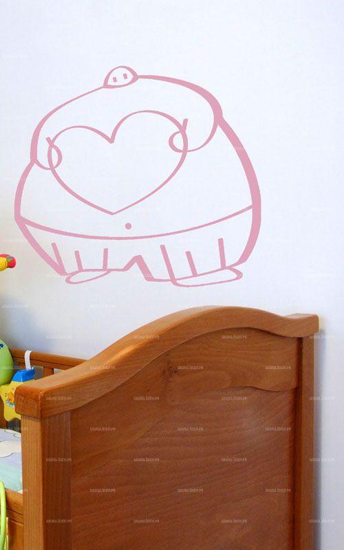 stickers enfants coeur igor