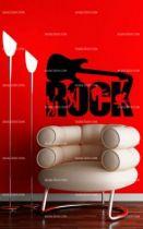 stickers guitare et rockeurs