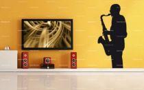 stickers saxophoniste