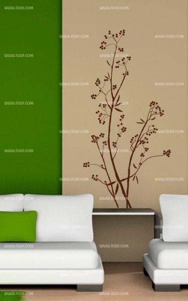 stickers branche olivier