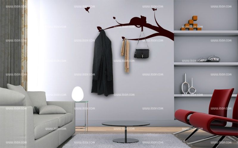 porte manteaux original elegant porte manteau arbre mural. Black Bedroom Furniture Sets. Home Design Ideas
