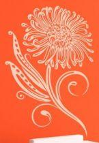 stickers fleur petales